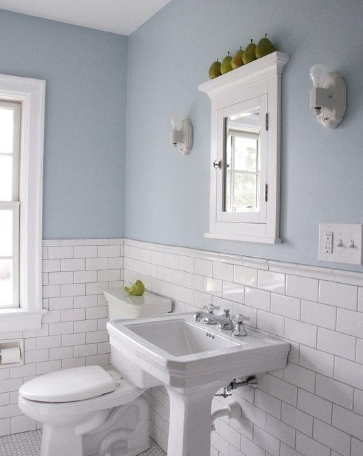 pastel shades bathroom