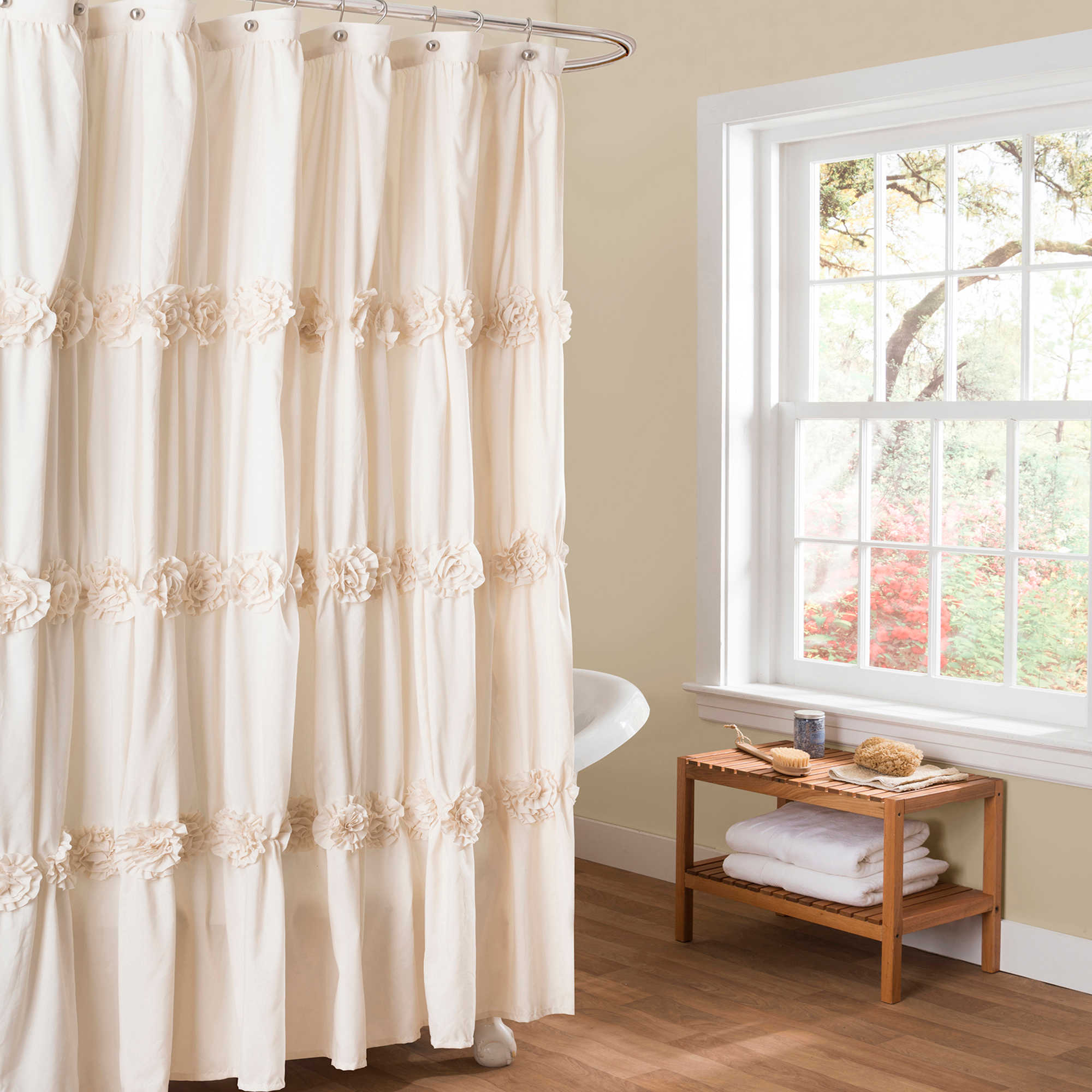 Shower Curtains: A Simple Home Hack Youll Love  Big Bathroom Shop