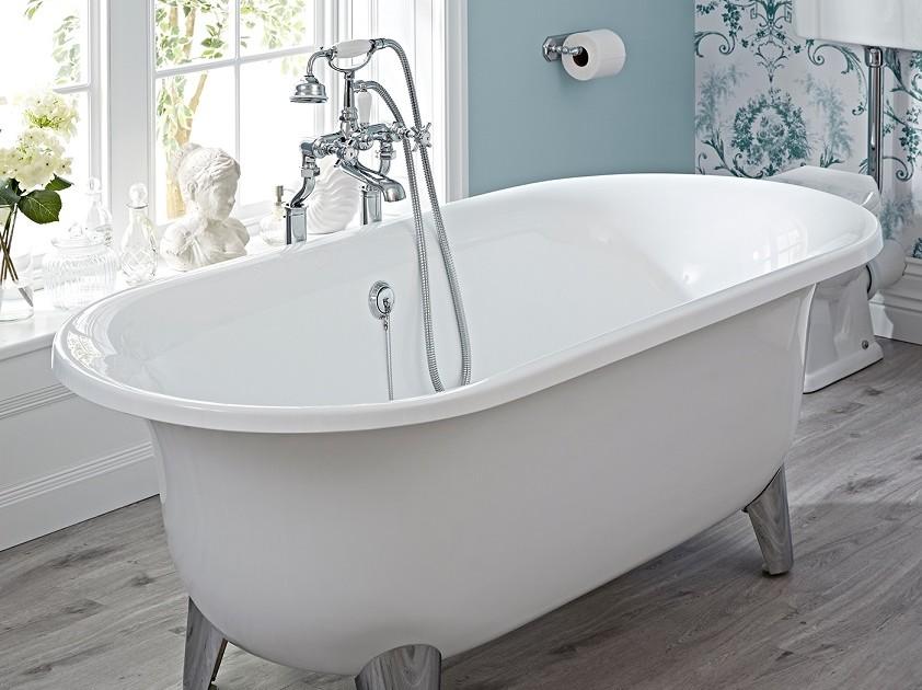 freestanding roll top bath