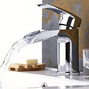 waterfall basin tap