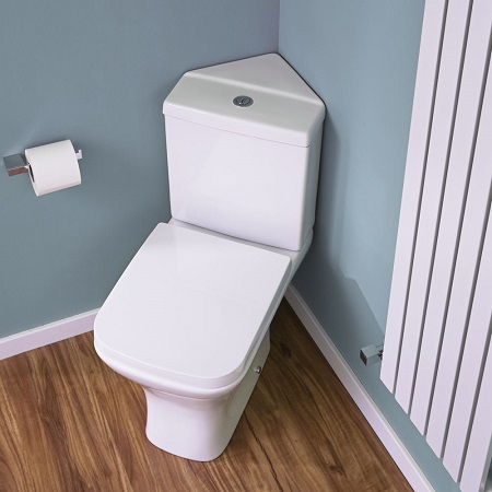 The toilet buyer 39 s guide big bathroom shop - Corner toilets for small spaces style ...
