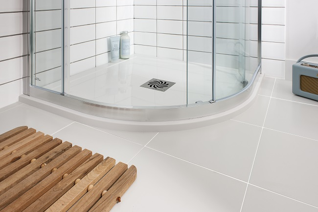Tiled Shower Tray how to seal a shower tray the right way | big bathroom shop