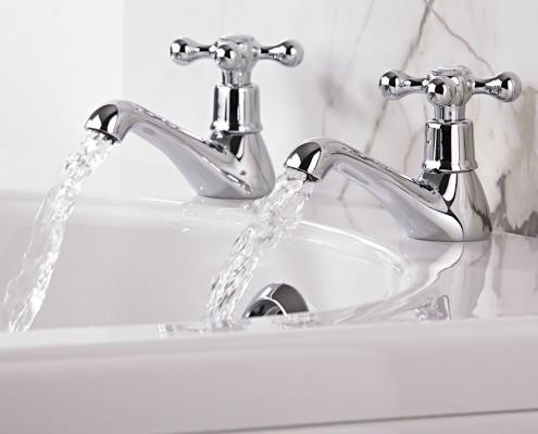 how to change bath taps