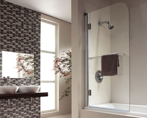 how to fit a bath screen