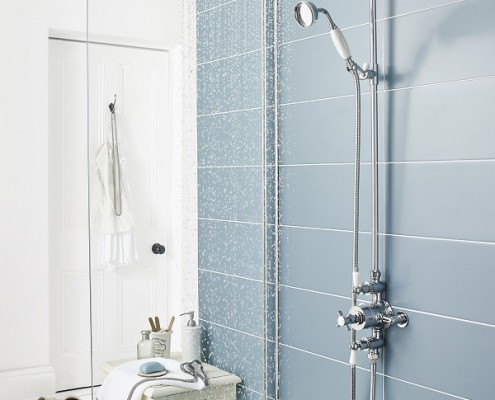how to regrout a shower wall