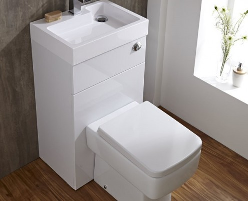 Milano toilet and basin combination unit