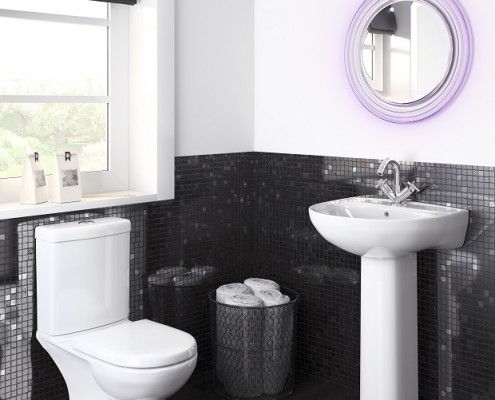 how to fit a close coupled toilet