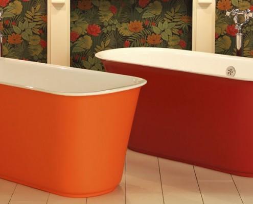 Coloured Bath Tubs