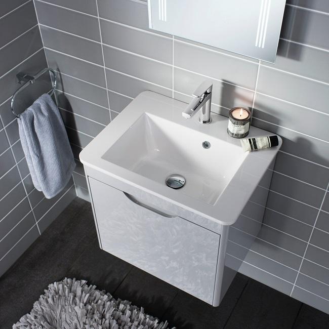 vanity unit small shower room ideas