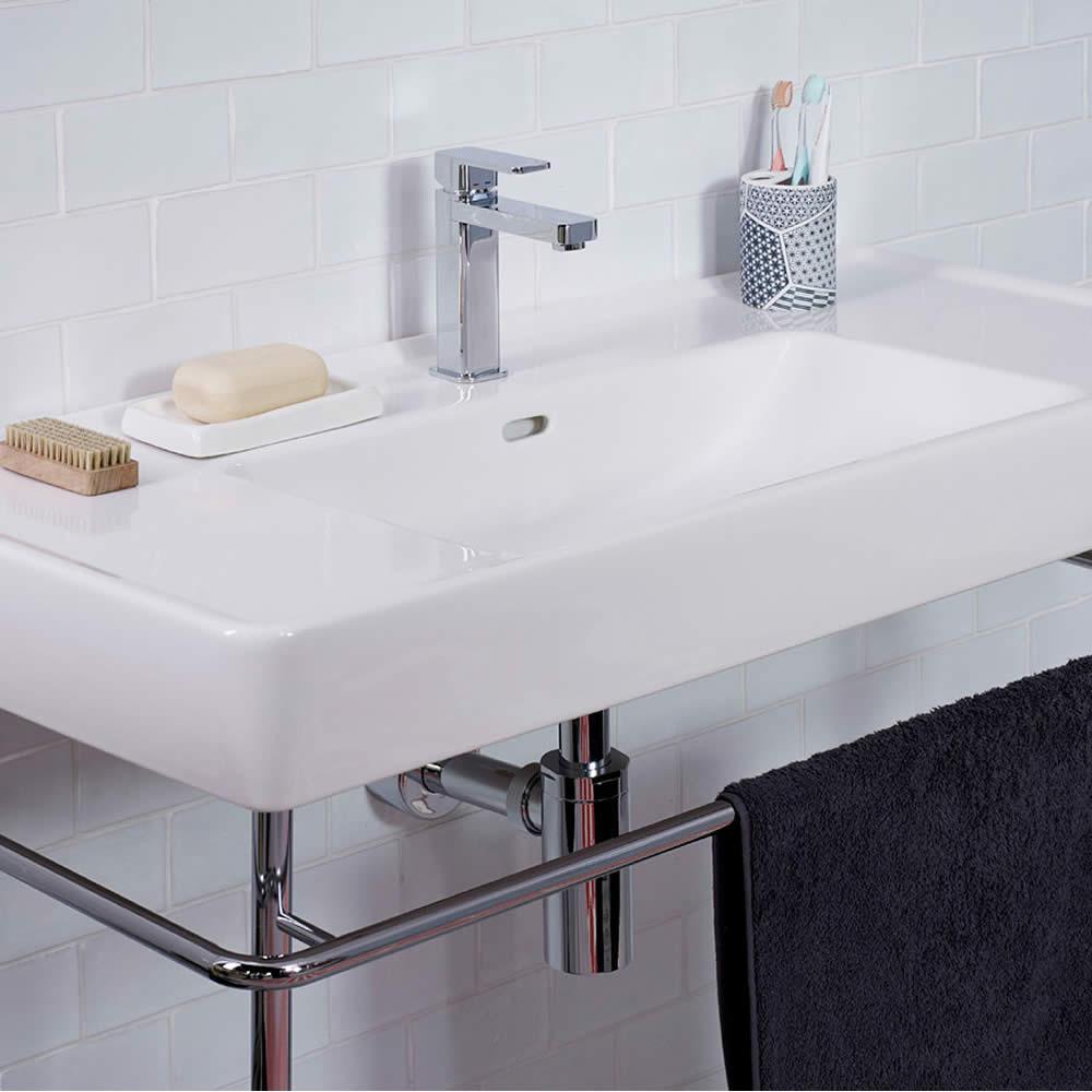 Get the look sleek minimal big bathroom shop Design your own bathroom uk