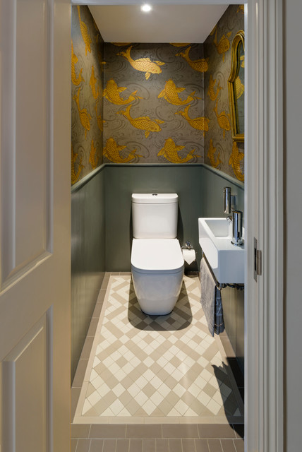 Fabulous Downstairs Toilet Ideas For The Ultimate Cloakroom - Small cloakroom toilet ideas