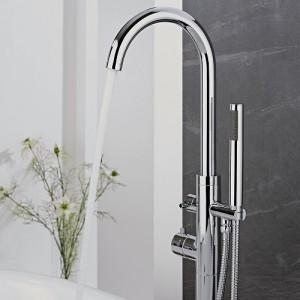 Milano freestanding bath shower mixer tap
