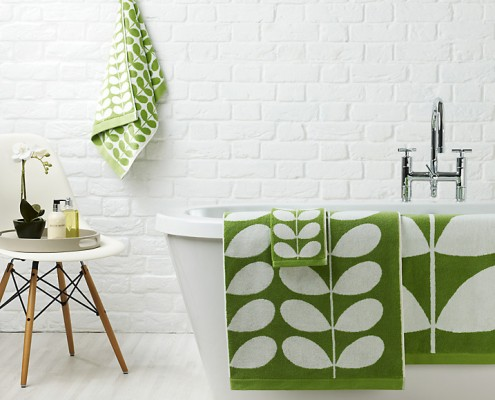 Orla Kiely Stem Pattern Towels