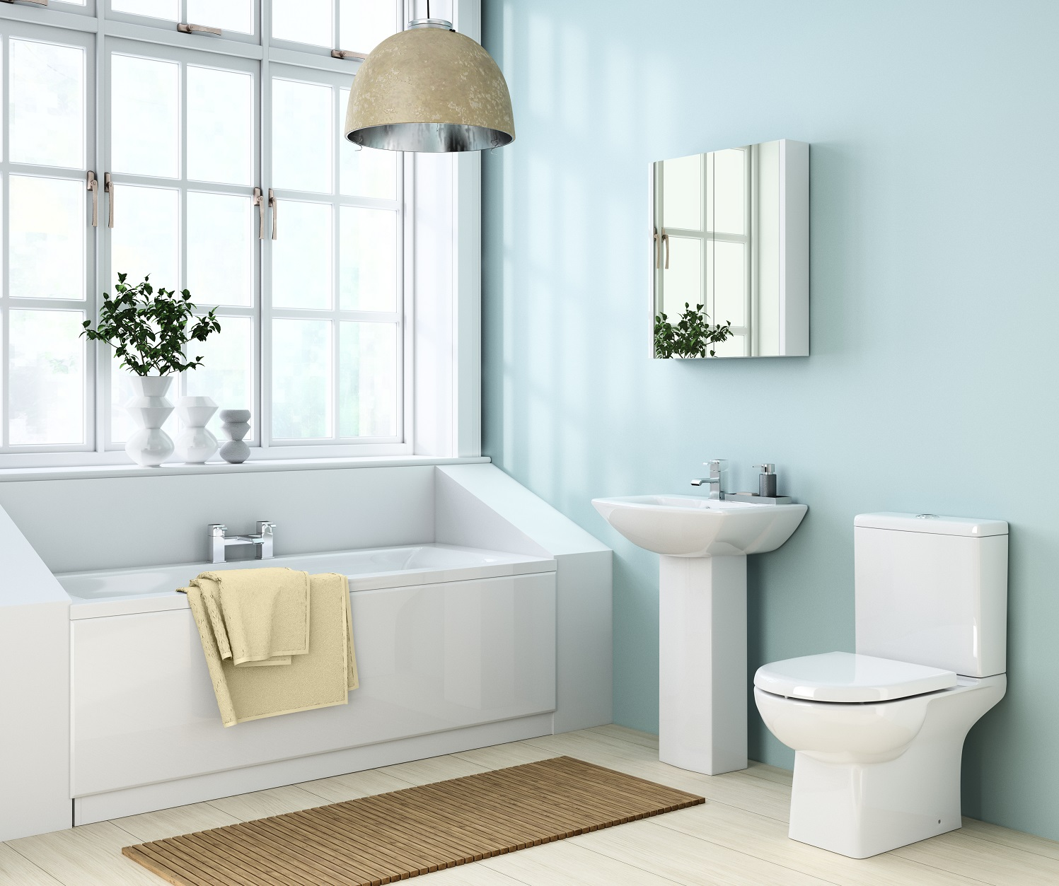 Bathroom suites how to create a space you ll love big for Stylish bathroom suites