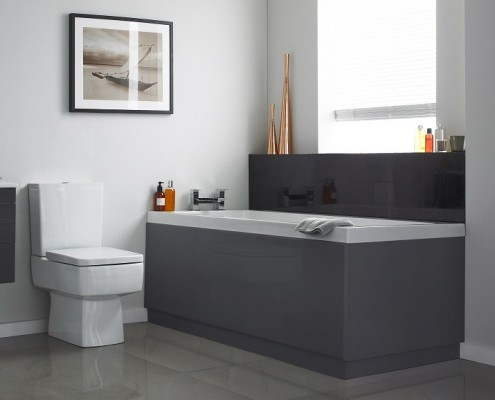 modern bathroom suite
