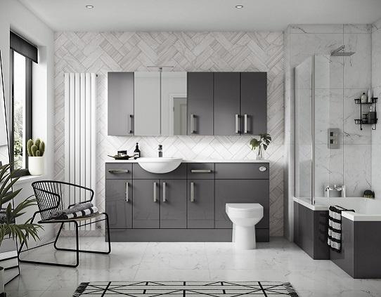 Grey bathroom ideas for a chic and sophisticated look for Modern grey bathroom ideas