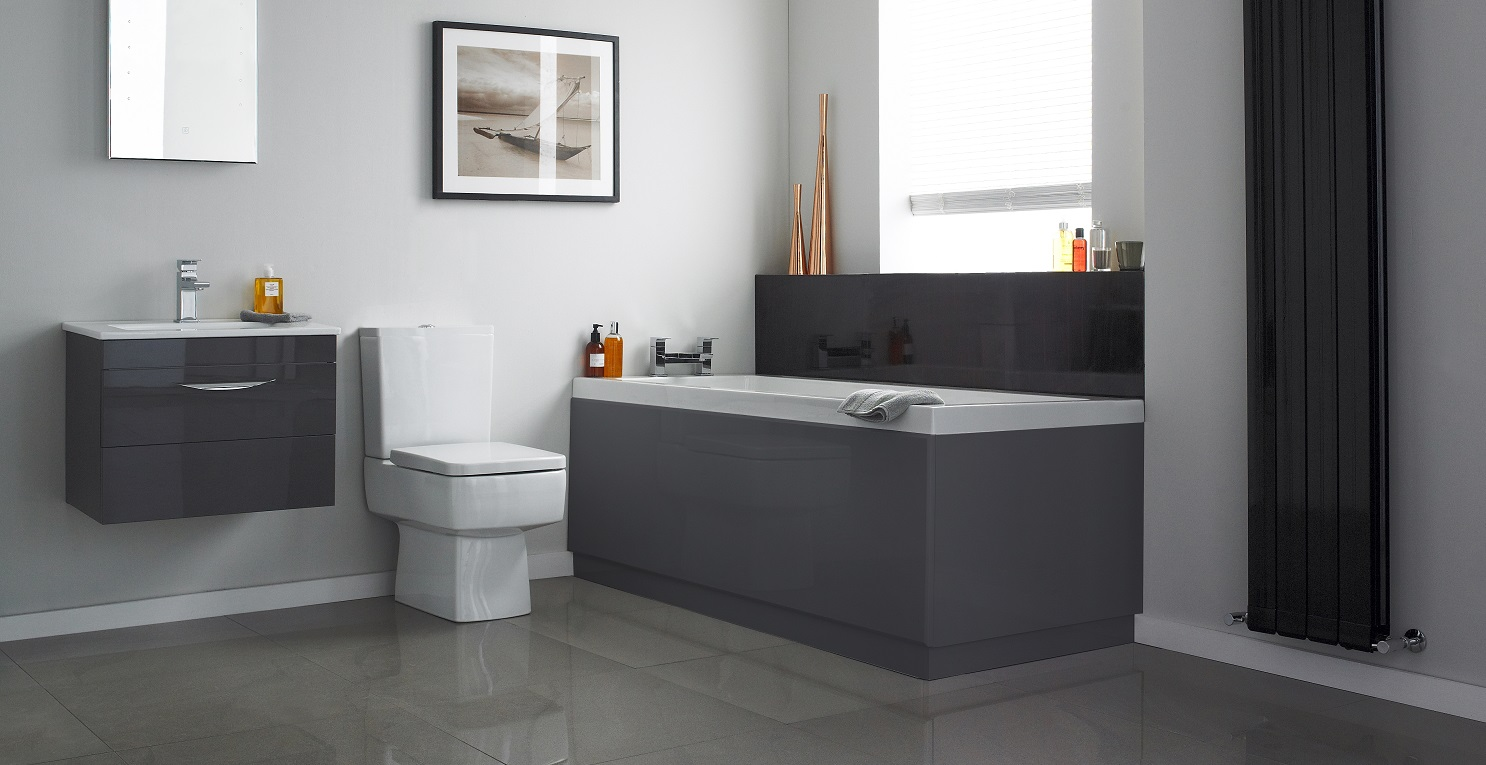 Grey bathroom ideas for a chic and sophisticated look for Bathroom ideas uk