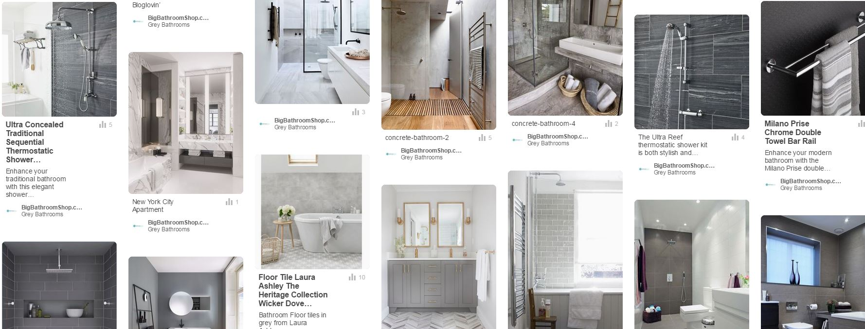 Grey bathroom ideas for a chic and sophisticated look for Shop bathroom layout