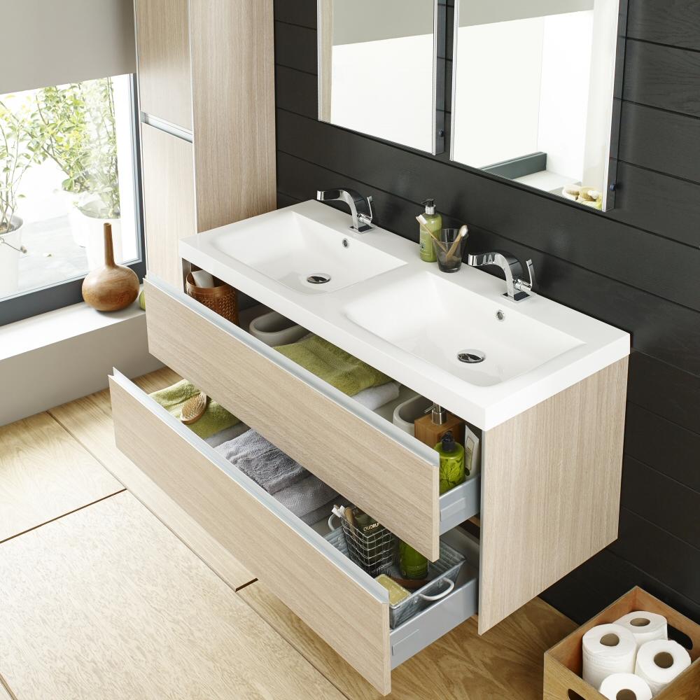 Double Basin Vanity Units For Bathroom Double Sink Vanity Unit