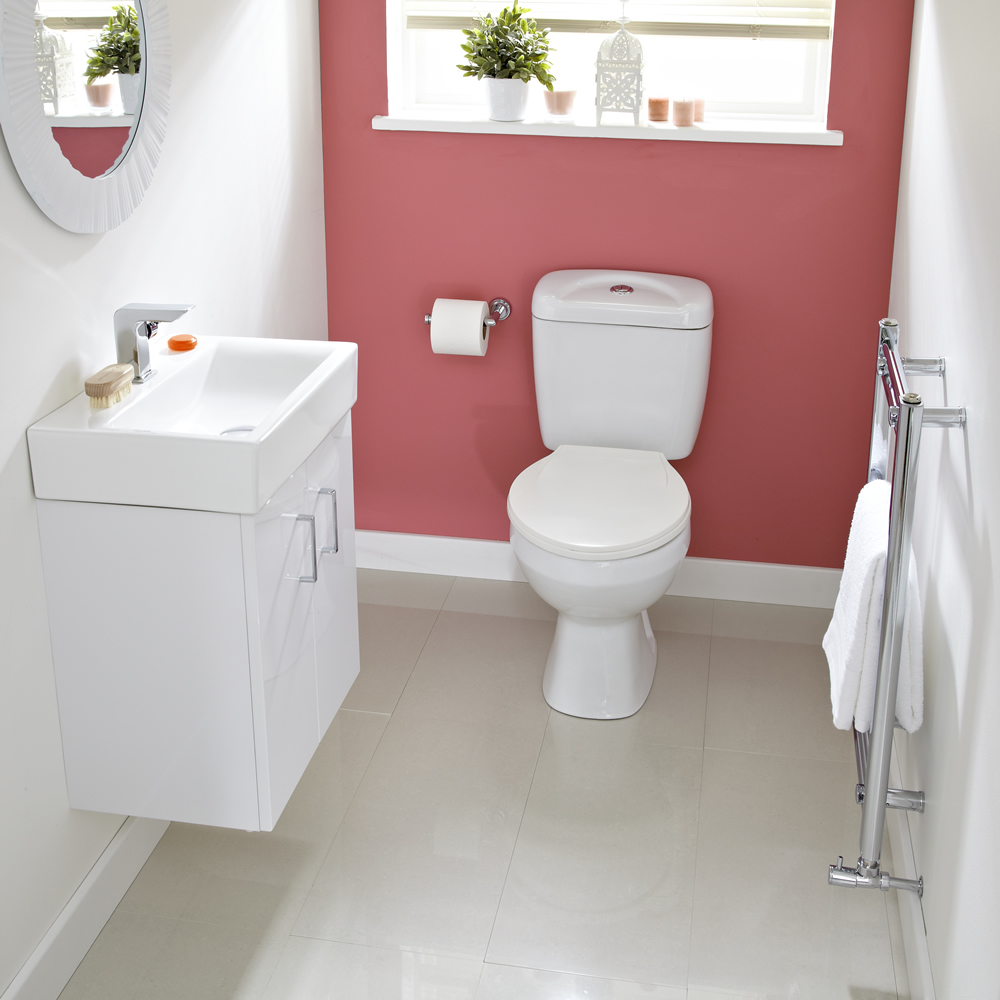 Cloakroom suites how to design a stylish and functional for Decorated bathroom suites
