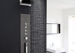 Milano concealed shower panel