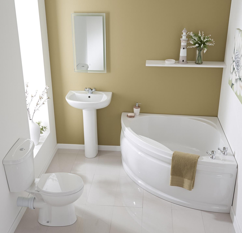 How to choose a corner bath bigbathroomshop - Types bathtubs consider home ...