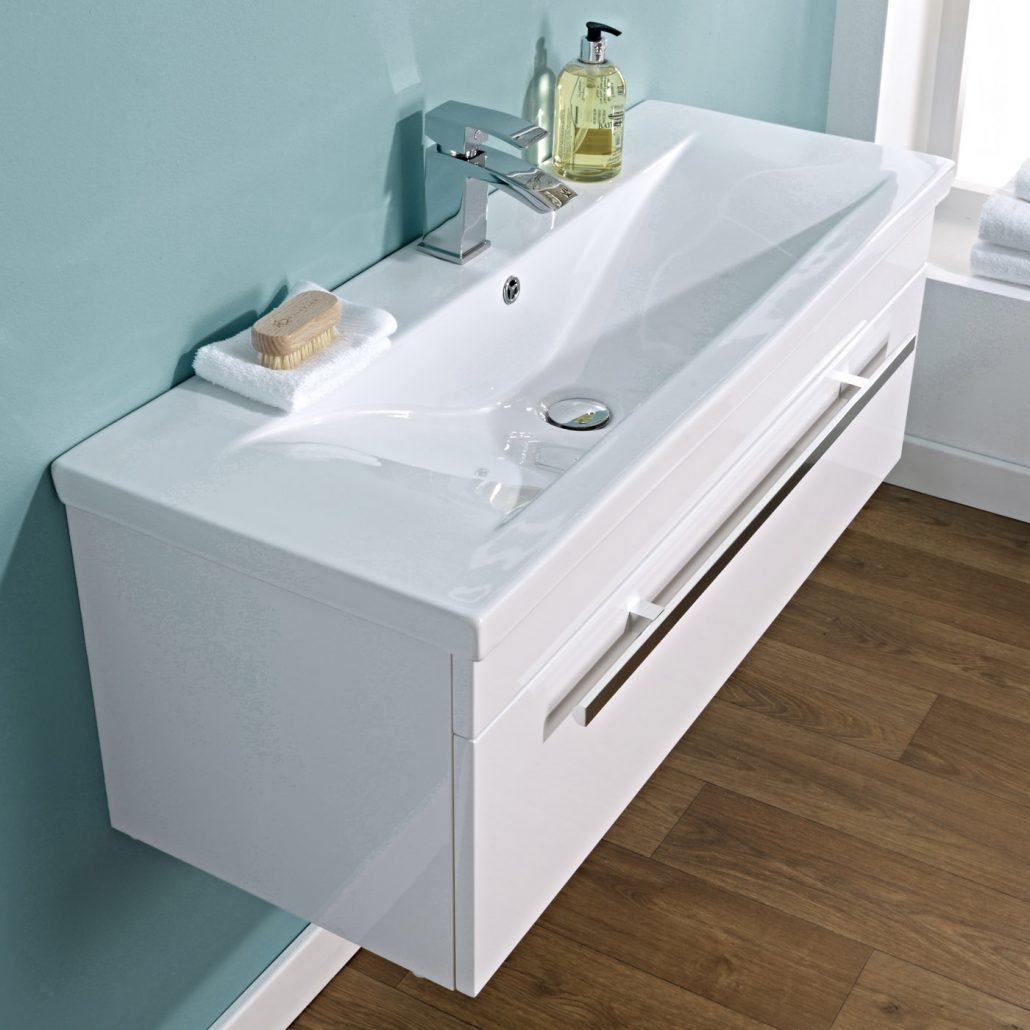 Bathroom sinks how to choose the best one bigbathroomshop - Modern vanity units for bathroom ...