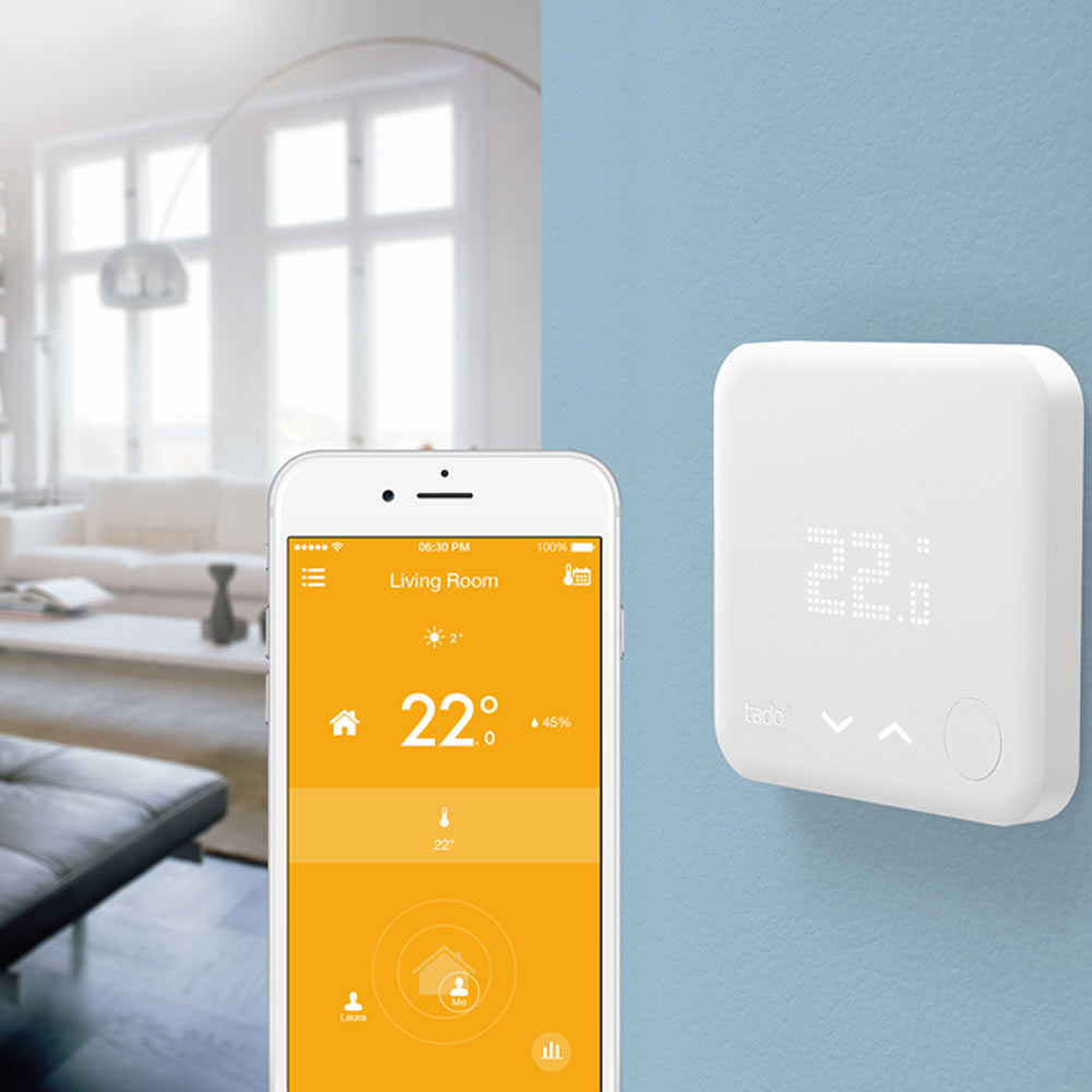 tado smart home heating now available at bigbathroomshop. Black Bedroom Furniture Sets. Home Design Ideas